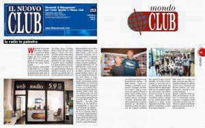 """""""La radio in palestra"""" (Il Nuovo Club, settembre/ottobre 2016)"""