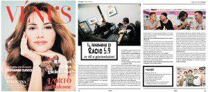 Grazie a Vénus - Beauty & Lifestyle per lo spazio dedicato a Web Radio 5.9. In particolare grazie a Giulia Guandalini e a tutta la Redazione!