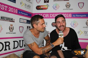 Color Dust 2016 Diretta Web Radio 5.9 Shade Il Pancio Nari and Milani Fossoli Carpi 15