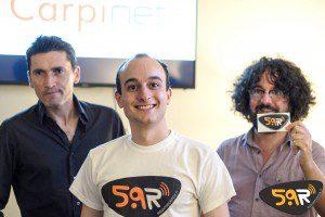Inaugurazione Web Radio 5.9 Extrafit Carpi diciotto