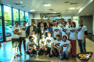 Inaugurazione Web Radio 5.9 Extrafit Carpi undici