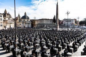 Bauli in Piazza a Roma