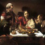 Cena di Emmaus Caravaggio