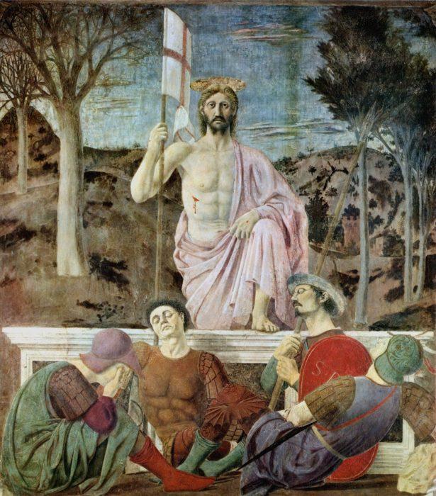La Resurrezione di Cristo Piero della Francesca