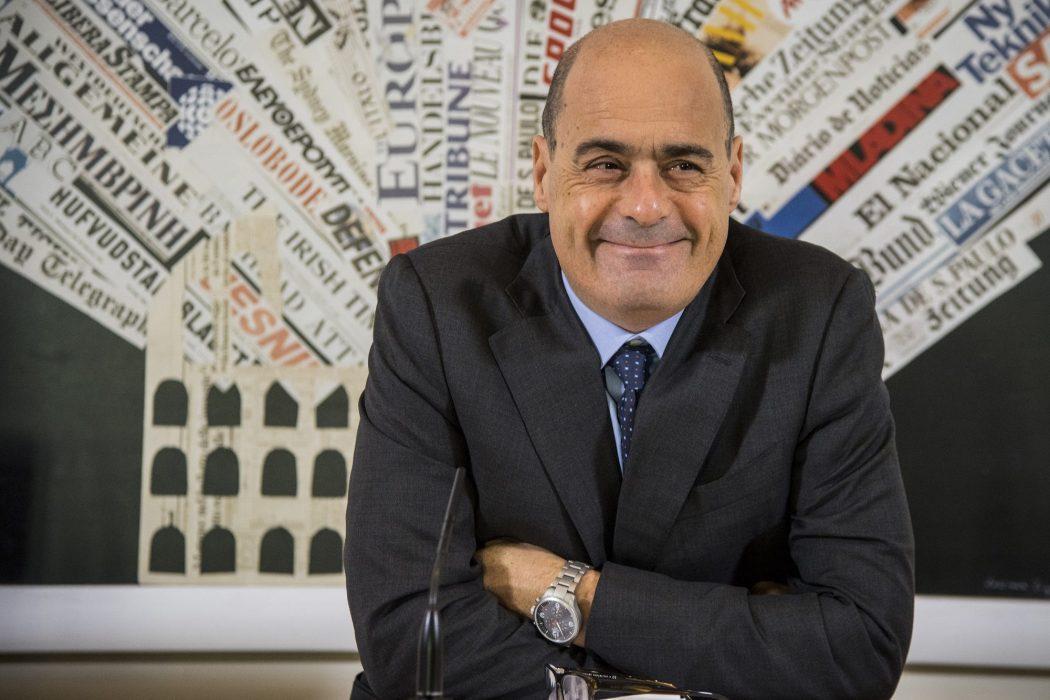 Nicola Zingaretti Regione Lazio