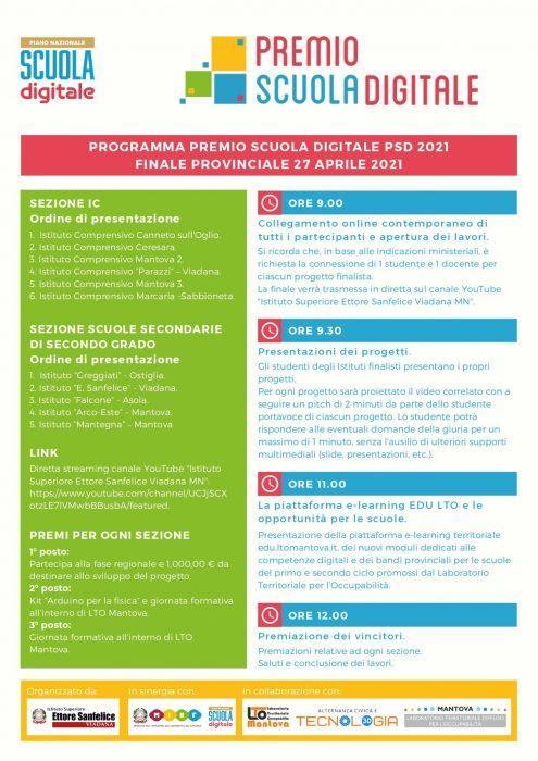 Premio Scuola Digitale 2021 Mantova