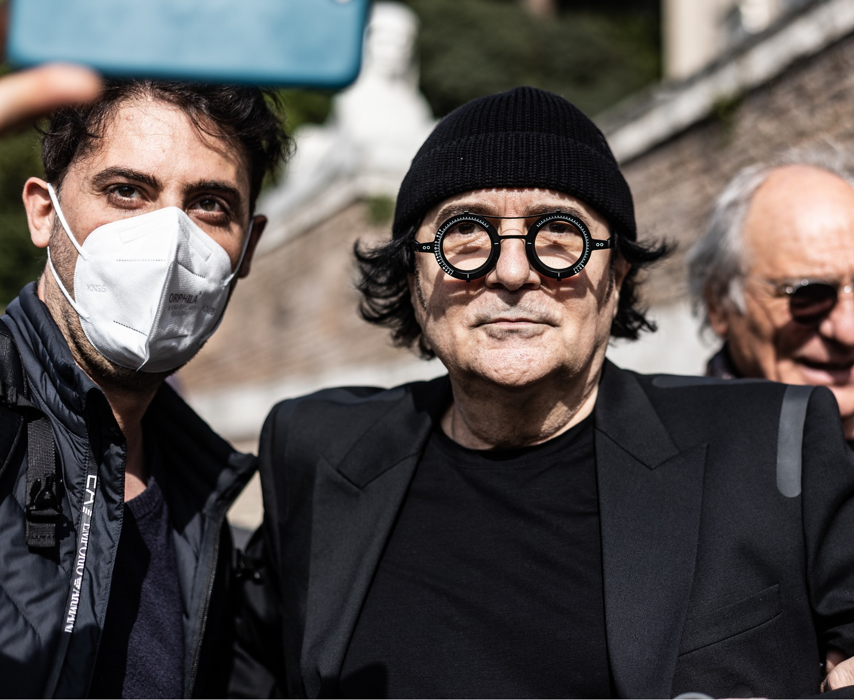 Renato Zero Bauli in Piazza Roma