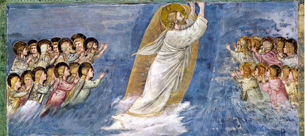 Ascensione Cristo Giotto