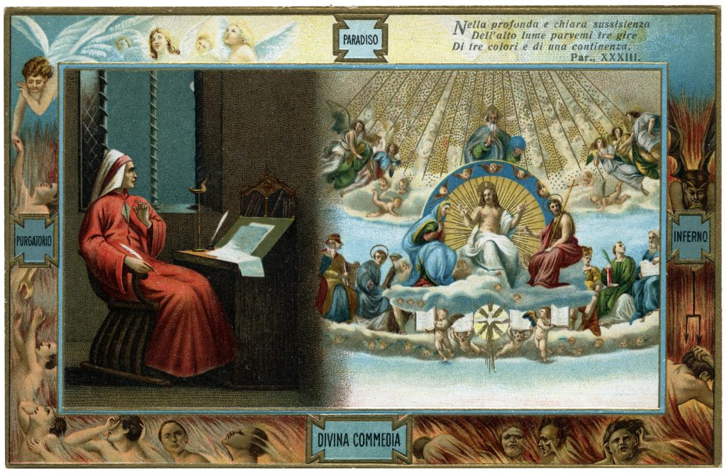 Divina Commedia Santissima Trinità