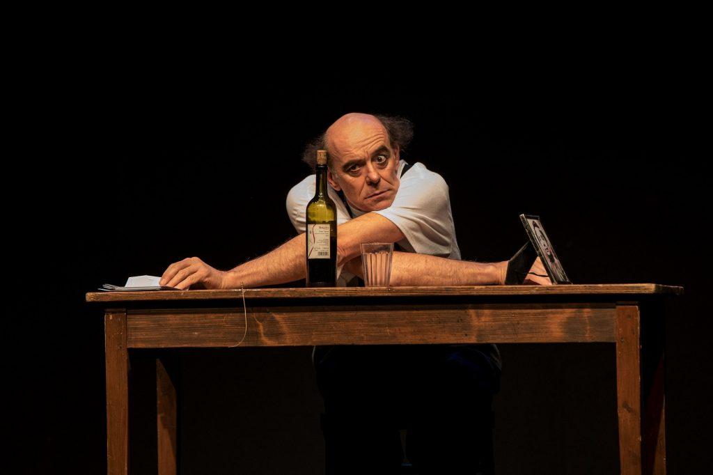 La lettera con Paolo Nanni foto di Rosalba Amorelli