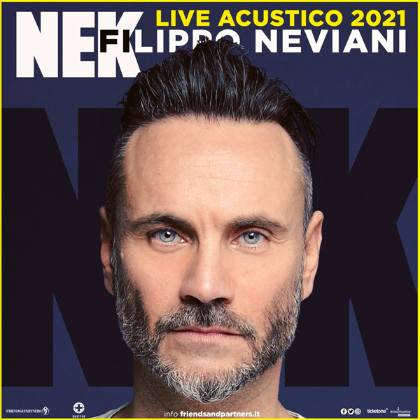 Nek Live Acustico 2021