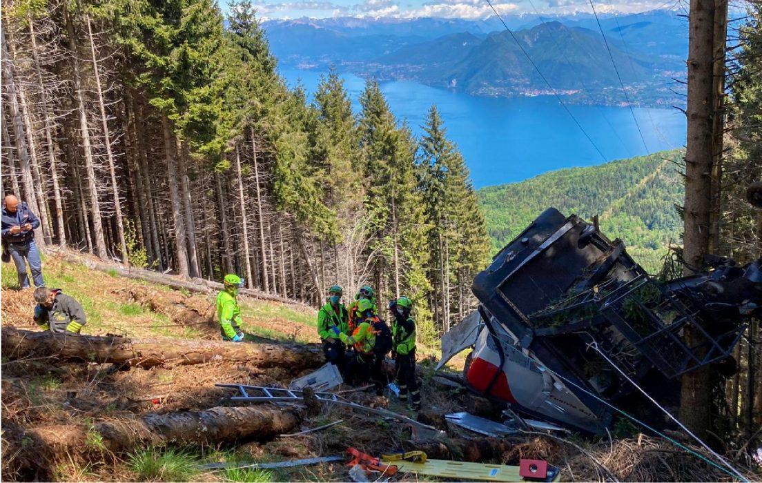 Stresa Mottarone foto Soccorso Alpino