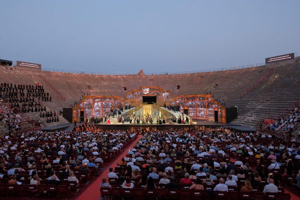 La Traviata Arena di Verona prima 2021