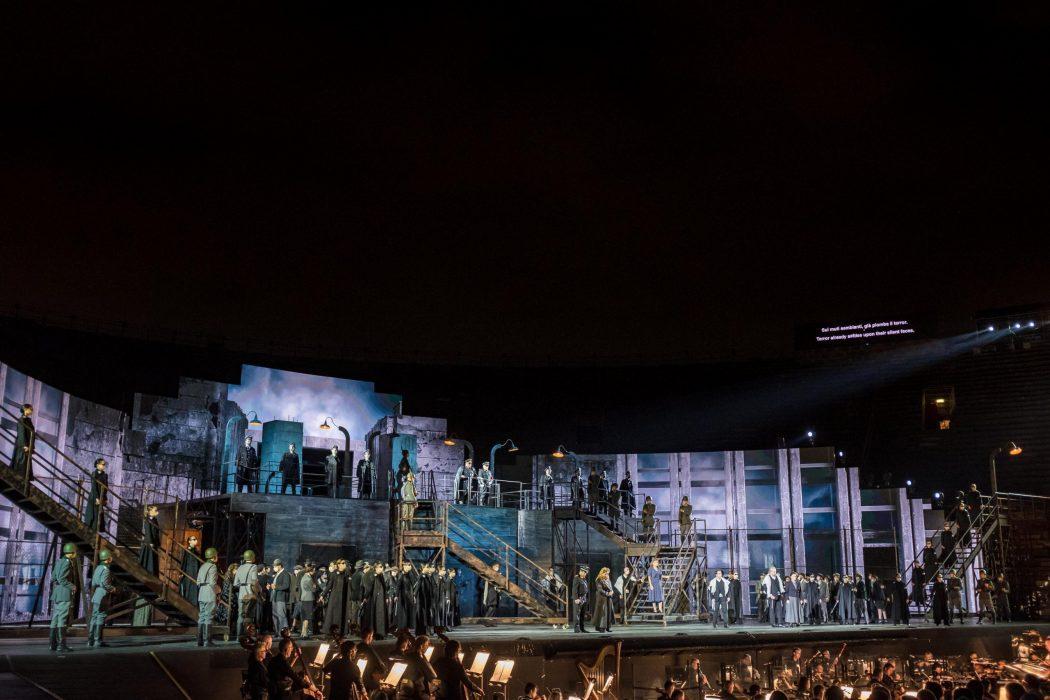 Arena di Verona Nabucco Giuseppe Verdi 26 agisti 2021