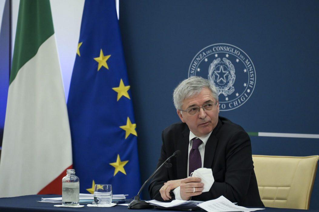Daniele Franco Decreto Sostegni Bis conferenza stampa